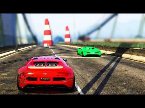 Grand Theft Auto V Walkthrough  RPG vs SUPER CARS GTA 5
