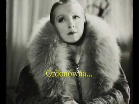 Polish Tango: Hanka Ordonówna - Milongera, 1930