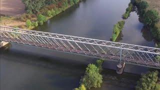 DJI Phantom 3: Eisenbahnbrücke (2018)