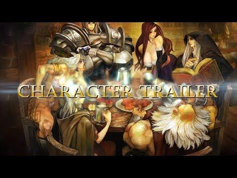 Dragon's Crown Pro - Trailer de Personnages de Dragon's Crown Pro
