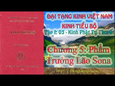 Kinh Tiểu Bộ - 042. Kinh Phật Tự Thuyết - Chương 5: Phẩm Trưởng Lão Sona