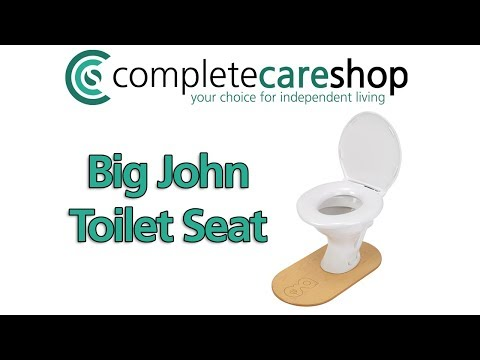 Big John Bariatric Toilet Seat Raised Toilet Seats Complete Care