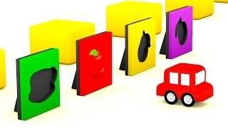 Lehrreicher Zeichentrickfilm Die 4 Kleinen Autos Wir Suchen