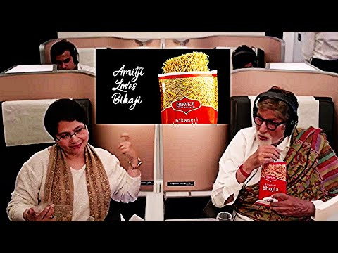AMITABH BACHCHAN'S Funny  Bikaji  Ad Series  #AmitabhBachchan #Bikaji