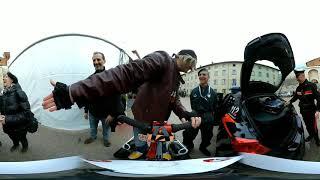 Etilometro Carabinieri VR 360° Lucca Comics 2018 video Unboxing a 360 gradi sicurezza stradale 🛵