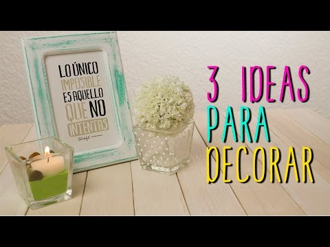 Geniales ideas para decorar tu habitaci n decoraci n for Como puedo decorar mi cuarto