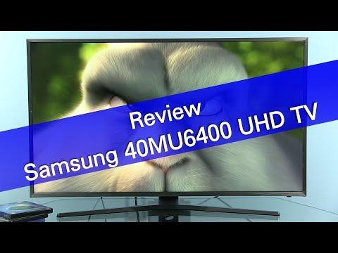 Samsung 40MU6400 UHD HDR TV review