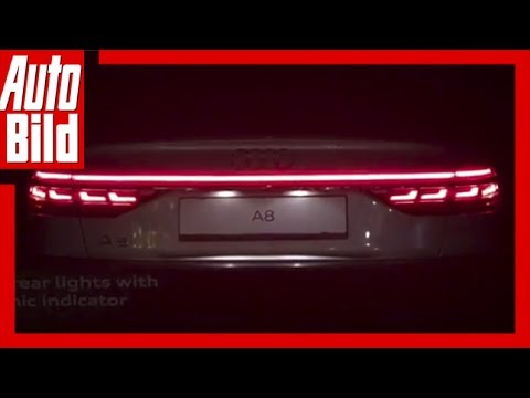 Quick Shot: Audi A8/D5 (2017) OLED Backlights Show