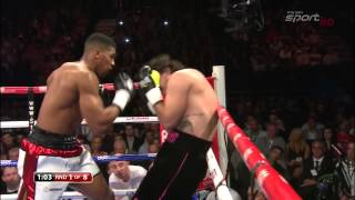 Anthony Joshua vs Rafael Zumbano Love 09 05 2015 HDTV Polish Broadcast
