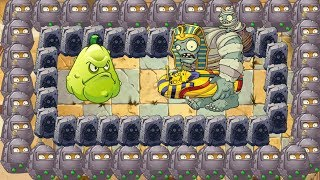 Pvz 2 - Snow Pea, Squash and all Wall Nut vs Gargantuar