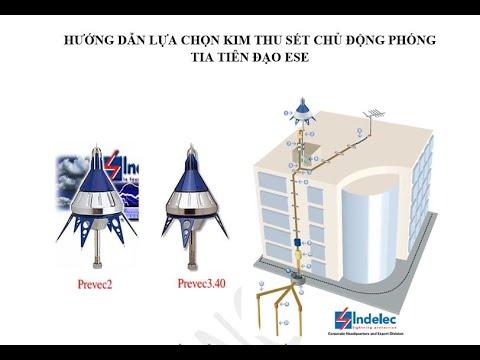 Hướng dẫn lựa chọn kim thu sét phóng tia tiên đạo sớm ESE