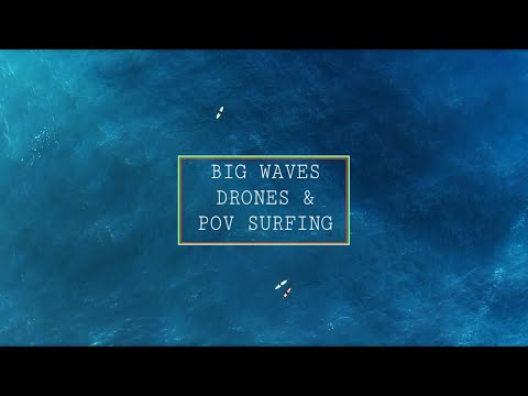 Drone and POV surf session at Injidup