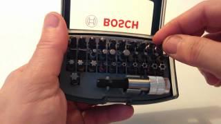 Набор оснастки универсальный bosch promoline 36 предметов Impact Control 2608522365