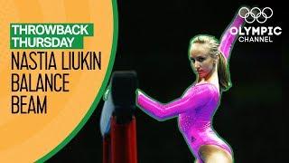Nastia Liukin's Balance Beam performance @ Beijing 2008 | Throwback Thursday