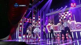 소녀시대-태티서_트윙클( Twinkle by Girl's Generation-TTS  @ Mcountdown 2012.05.17)