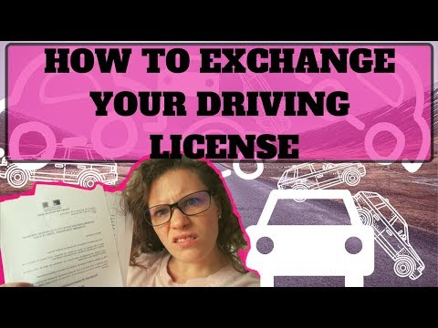 , title : 'How to : Exchange your drivers license