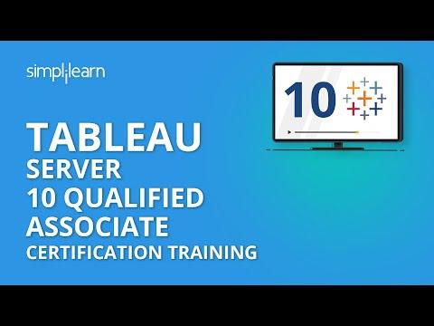 Tableau Server 10 Qualified Associate Certification Training ...