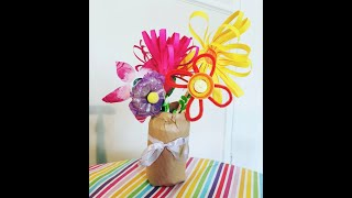 Saturday Family Sessions – Recycled Bouquet of Flowers