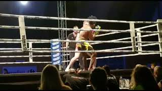 combat David Oudin ring out challenge 09 06 2018