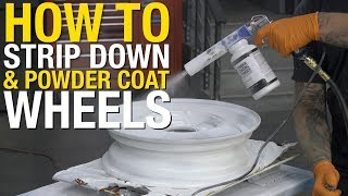 Powder Coating - How to Clean & Powder Coat Early Ford Wheels - Eastwood
