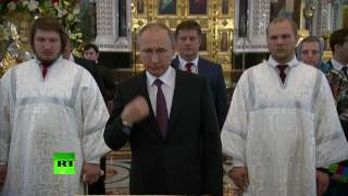 Путин приложился к мощам святителя Николая Чудотворца
