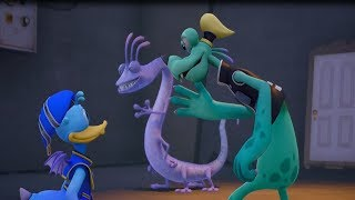 Kingdom Hearts 3 (PS4) Randall Boggs HD 720p 60fps