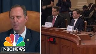 Adam Schiff: Look At The President's Words And Actions | NBC News