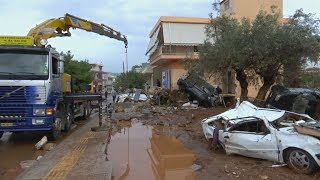Наводнение в Греции: погибших уже 20 (новости)