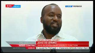 Hassan Joho: Harassment from Jubilee will not be tolerated