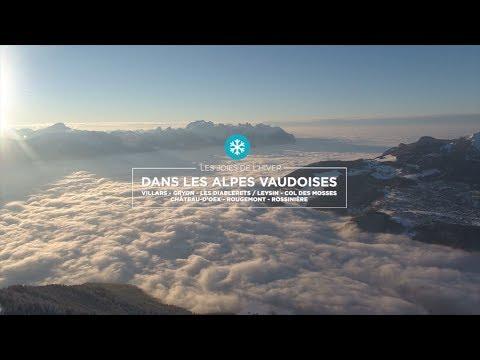 Les joies de l'hiver dans les Alpes Vaudoises