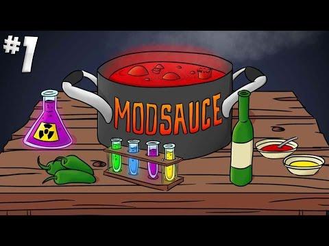Minecraft Mod Sauce - Part 1 - Isaac Island!  [Minecraft 1.7.10]