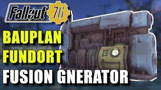 Bauplan für Fusion Generator bekommen   Fallout 76   Fundort