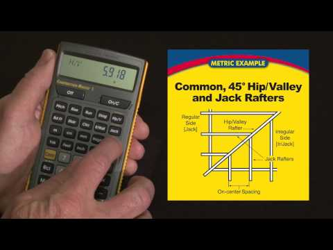 Construction Master 5 - Rafter Calculations