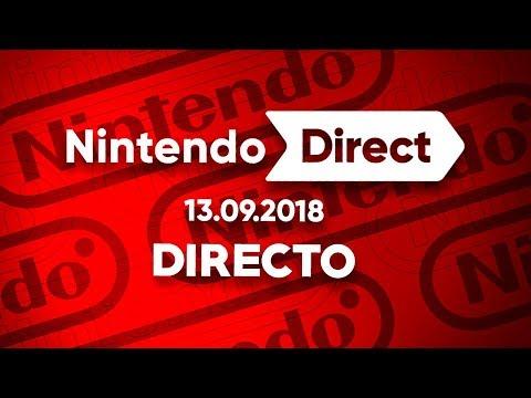 🔴NINTENDO DIRECT 13.09.2018 | REACCIÓN EN DIRECTO EN ESPAÑOL | DIRECT SEPTIEMBRE 2018 (видео)