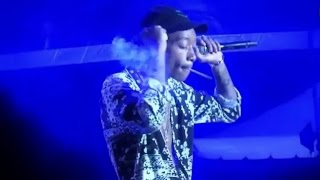 Wiz Khalifa Performs 'No Sleep' 'Work Hard Play Hard' 'Roll Up' Live MEO Sudoeste Festival, Portugal