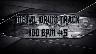 Double Bass Extravaganza Metal Drum Track 100 BPM (HQ,HD) | Preset 2.0