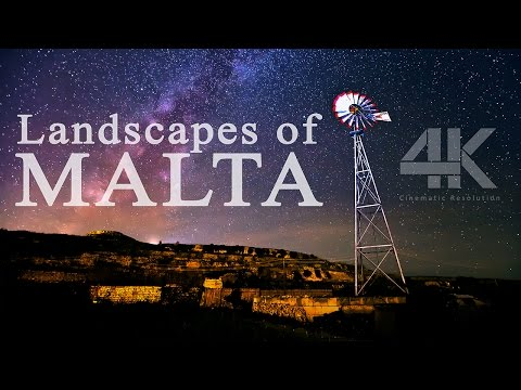Explore the Beauty of Malta in Incredible 4K Quality!