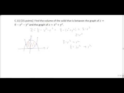 Multivariable Calculus Final Exam Review - YouTube