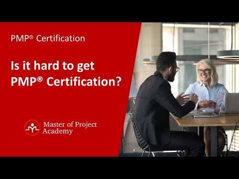 PMP® Certification - Is it hard to get PMP® Certification? - YouTube