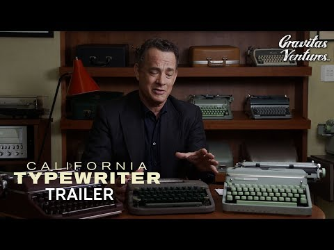 "Tom Hanks reaches peak ""cute dad"" within the trailer for this typewriter doc · Coming Distractions · The A.V. Membership"