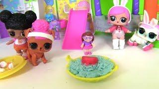 #Лол LoL Surprise Питомец для Куклы ЛОЛ #Видео для детей! Мультик с игрушками! Пупсы ЛОЛ
