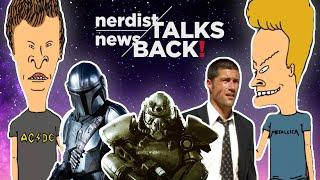 Nerdist News Talks Back! Secret DC Movies, Beavis & Butt-head, Baby Yoda, Fallout, and more!