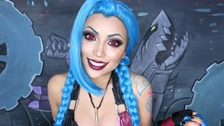 JINX Cosplay Makeup Tutorial !!! by Promise Tamangphan