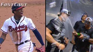 MLB.com FastCast: Braves, Yankees clinch - 9/22/18 - Video Youtube