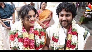 Kayal Chandran and Vj Anjana Marriage Video | Wedding Reception
