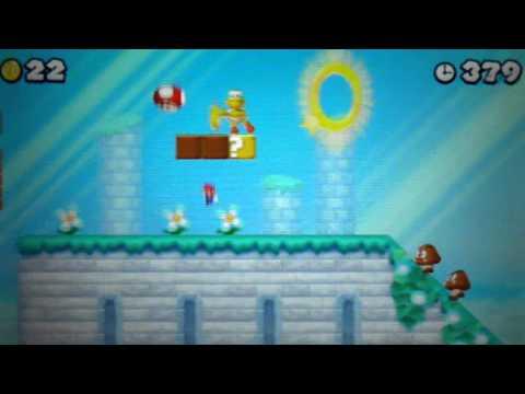 New Super Mario Bros 2 Walkthrough - World 5-1 & Secret Exit- Part