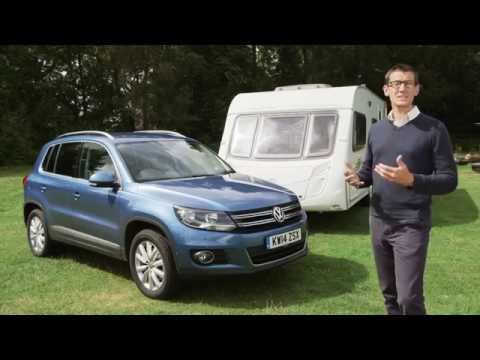 Practical Caravan reviews the Volkswagen Tiguan