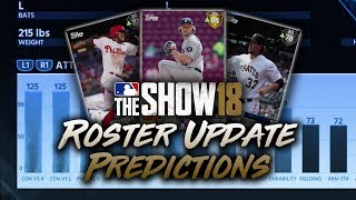 May 24th Roster Update Predictions! MLB The Show 18 Diamond Dynasty - Video Youtube