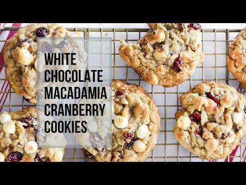 Best White Chocolate Macadamia Nut Cookie Recipe  🍪   Easy Recipe
