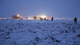 Крушение Ан-148 сняла частная Камера | новый
